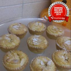 2nd Prize Recipe - Almond mincemeat pies