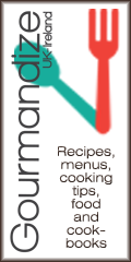 Recipes, menus, cooking tips, food and cookbooks - Gourmandize UK & Ireland
