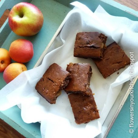 Gluten-free Apple Carrot Cinnamon Brownies