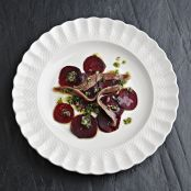 Mark Hix's Beetroot salad with smoked anchovies