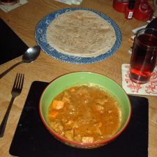Pork and Sweet Potato Korma