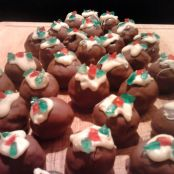 Michelles 'Merry Christmas Pudding' Chocolate Truffles