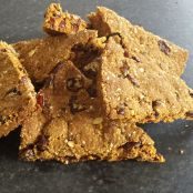 nutty, oaty slices