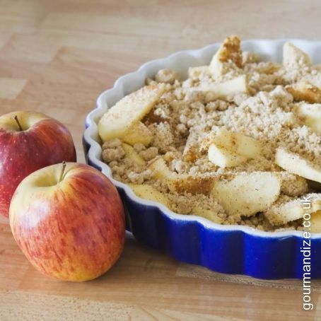 Instagramable Apple Crumble