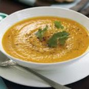 Carrot and Chestnut Soup