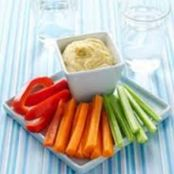 Quick Carrot and Coriander Dip