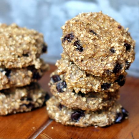 Banana and oat cookie