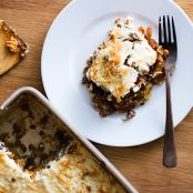 Cauliflower Courgette Moussaka