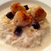 Cauliflower Risotto with Chocolate Jelly