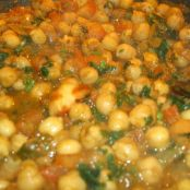 Channa Masala (chickpeas)