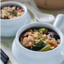 Chinese Claypot Chicken Rice