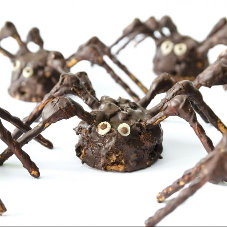 Scary Chocolate Spiders