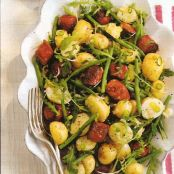 Chorizo & potato salad