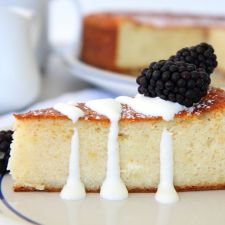 Lithuanian Baked Cheesecake