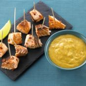 Citrus fish bites with Thai dipping sauce
