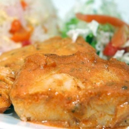 Fish in Pineapple and Tomato Sauce