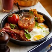 Rustic Looking English Breakfast