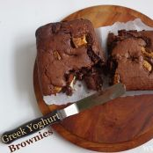 Greek Yoghurt Brownies