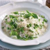 Green Vegetable Risotto
