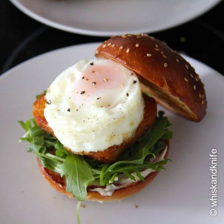 Brunch Hashbrown Burger