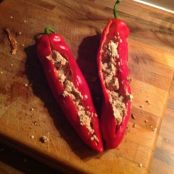 Stuffed sweet peppers with spicy mayo - Step 3