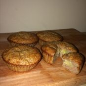 super easy banana muffins