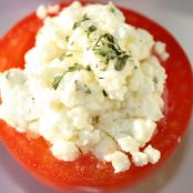 Sweet and Sour Tomatoes with Feta Cheese