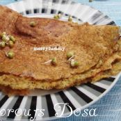 Moong Beans Sprouts Dosa