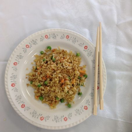 Eleanor's Vegetable Egg Fried Rice