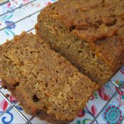 Date, Carrot and Orange Spice Loaf
