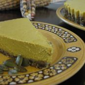 Raw pumpkin (ish) pie