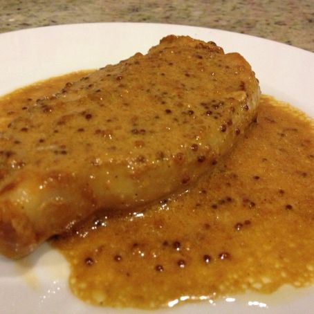 Mustard Pork Steaks