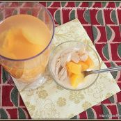 Peach Melba with Vanilla Ice Cream – easy, gorgeous, fruity, summer dessert recipe
