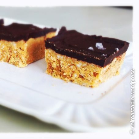 Quick Peanut Butter and Chocolate Squares