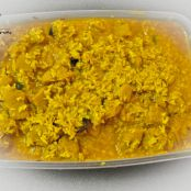 Coconut Soya ( Soya chunk with Coconut Curry)