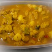 Soya Korma ( Soya Nuggets in Curry)