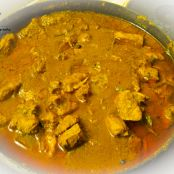 Chicken Kasha (Slow cooked chicken in spicy yoghurt curry )