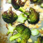 Roasted Broccoli with Toasted Almonds and a Smoky Paprika Dressing - Step 2