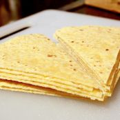 Quick and Easy Tortilla Chips - Step 1