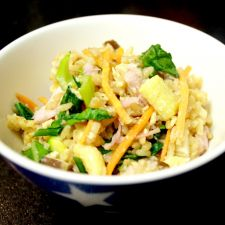 Easy Ham & Veggie Fried Rice