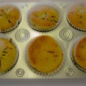 Eggless Nut and Raisin Muffins/ Cupcakes