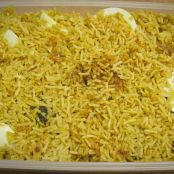 Chicken Biryani (Chicken with fried rice)