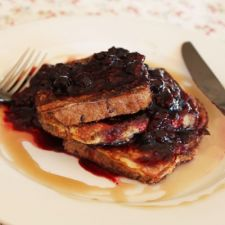 French Toast with compote