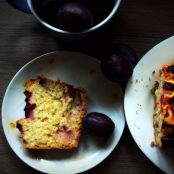 Yeasty Plum Cake