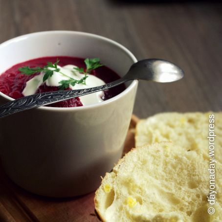Beetroot Cream Soup