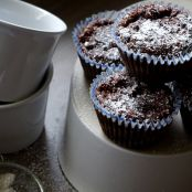 moist chocolate pear cupcakes