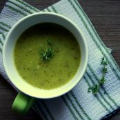 Courgette Cream Soup