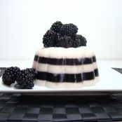 Blackberry coconut jelly