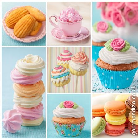 Simple Party Fairy Cakes