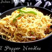 Bell Pepper Noodles